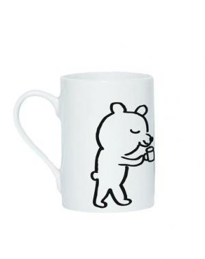Для чая и кофе DOMESTIC. Цвет: белый