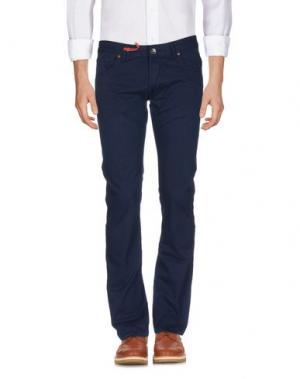 Повседневные брюки ZU+ELEMENTS. Цвет: темно-синий