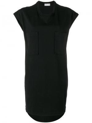 Удлиненная футболка Borax с короткими рукавами Drifter. Цвет: чёрный