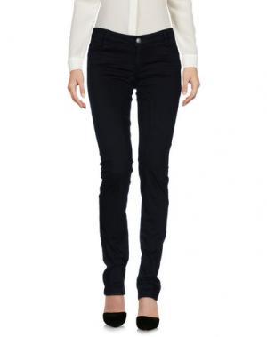 Повседневные брюки POORICH. Цвет: черный