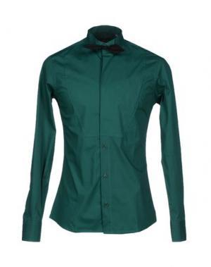 Pубашка MNML COUTURE. Цвет: зеленый