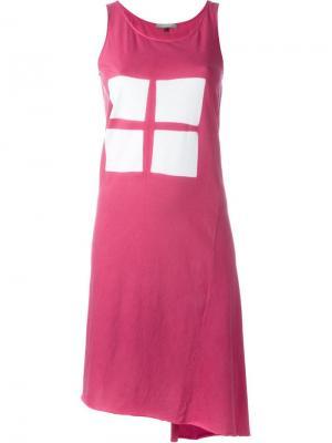 Платье Itajime Suzusan. Цвет: розовый и фиолетовый