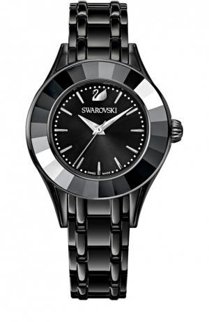 Наручные часы Alegria Swarovski. Цвет: черный