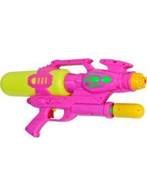 Водный пистолет с помпой Тилибом. Цвет: фиолетовый