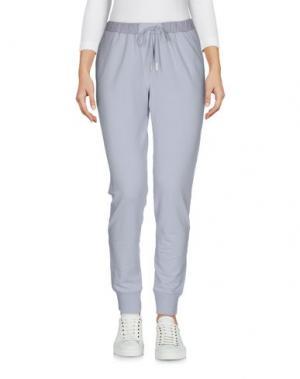 Повседневные брюки ROSSOPURO. Цвет: светло-серый