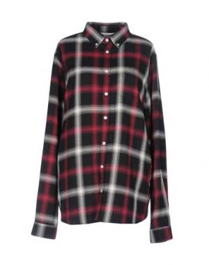Pубашка LIBERTINE-LIBERTINE. Цвет: красно-коричневый