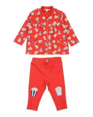 Спортивный костюм LITTLE MARC JACOBS. Цвет: красный