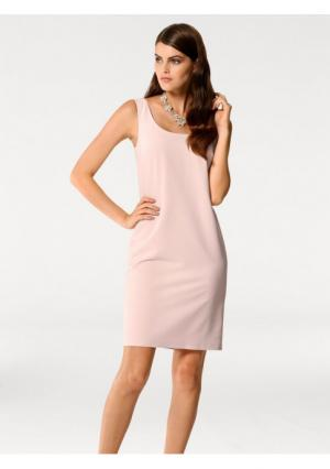 Платье-футляр PATRIZIA DINI. Цвет: розовый