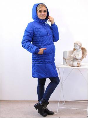 Куртка Адель. Цвет: лазурный