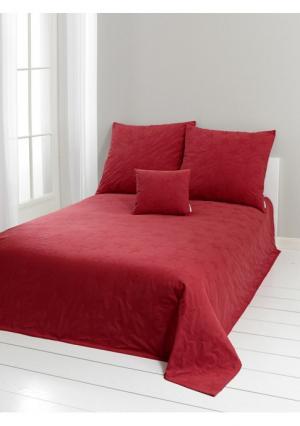 Покрывало Heine Home. Цвет: красный, телесный