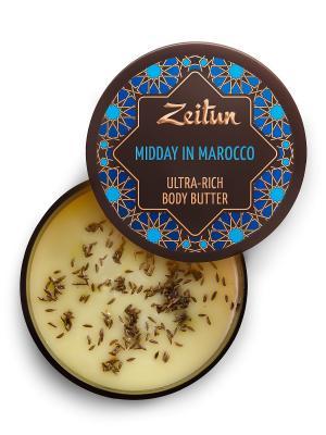 Крем-масло для подтяжки кожи Марокканский полдень Зейтун. Цвет: кремовый