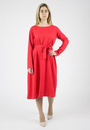 Платье Monoroom. Цвет: красный