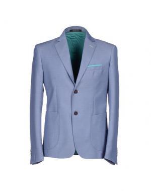 Пиджак ROBERTO PEPE. Цвет: пастельно-синий