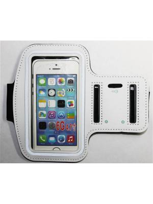 Чехол для Iphone 6/ 6S с креплением на руку Punta. Цвет: белый