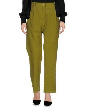 Повседневные брюки DANIELA PANCHERI. Цвет: зеленый
