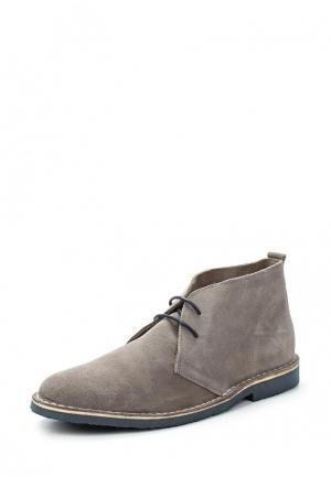 Ботинки Pier One. Цвет: серый