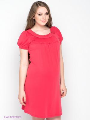Платье Gemko. Цвет: коралловый