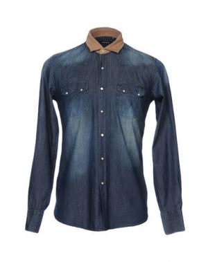 Джинсовая рубашка ANTONY MORATO. Цвет: синий