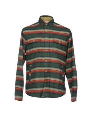 Pубашка FAHERTY. Цвет: зеленый