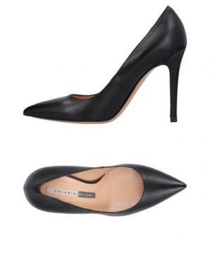 Туфли CHIARINI BOLOGNA. Цвет: черный