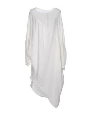 Платье до колена POÈME BOHÈMIEN. Цвет: белый