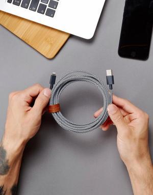 Native Union Зарядный кабель для iPhone Premium, 3 м. Цвет: мульти