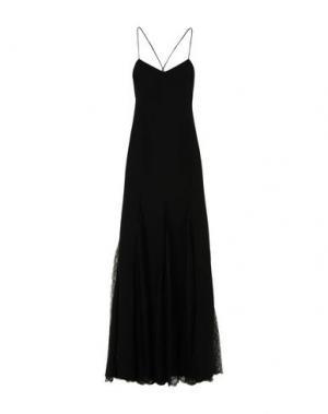 Длинное платье MICHAEL KORS COLLECTION. Цвет: черный