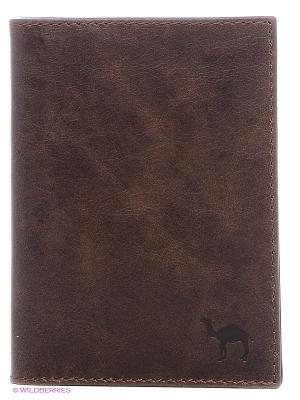 Бумажник водителя Dimanche. Цвет: коричневый