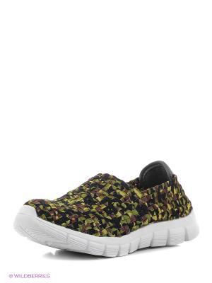 Ботинки Daze. Цвет: зеленый