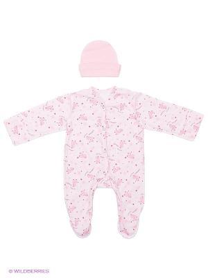 Комплект одежды ФЭСТ. Цвет: розовый