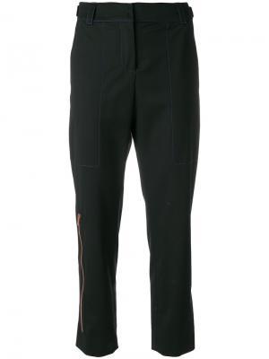 Укороченные строгие брюки Proenza Schouler. Цвет: чёрный
