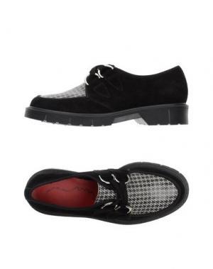 Обувь на шнурках PENELOPE. Цвет: черный