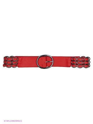 Ремень RUXARA. Цвет: красный