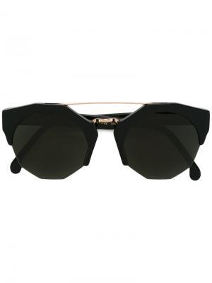 Солнцезащитные очки Patti Kyme. Цвет: чёрный