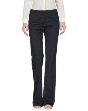 Повседневные брюки TROU AUX BICHES. Цвет: стальной серый