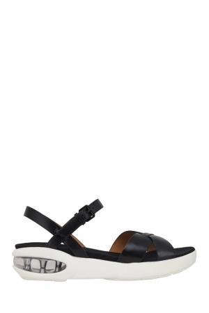 Кожаные сандалии Marc by Jacobs. Цвет: черный