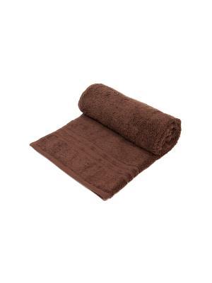 Полотенце махровое ARLONI. Цвет: коричневый
