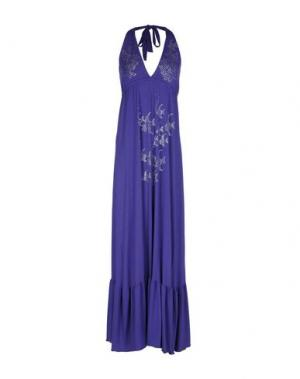 Длинное платье NAUGHTY DOG. Цвет: фиолетовый