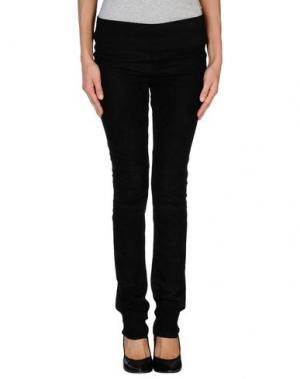 Повседневные брюки VICEDOMINI. Цвет: черный