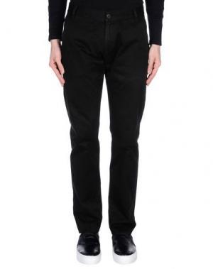 Повседневные брюки 2 MEN. Цвет: черный