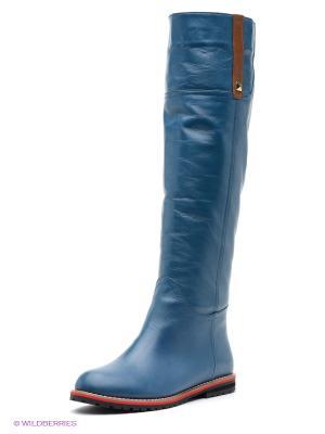 Сапоги Grand Gudini. Цвет: синий, коричневый