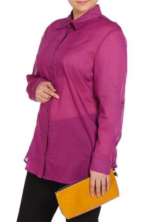 Блуза PER TE BY KRIZIA. Цвет: розовый