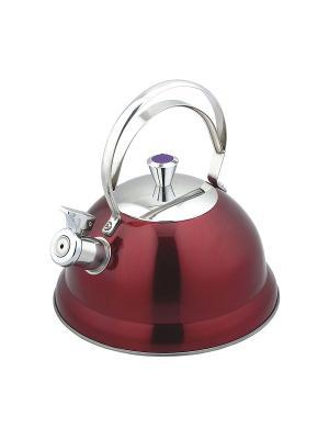 Чайник Bekker. Цвет: красный