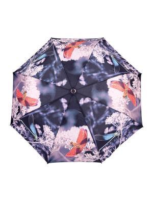 Зонт NUAGES. Цвет: черный, бежевый, розовый