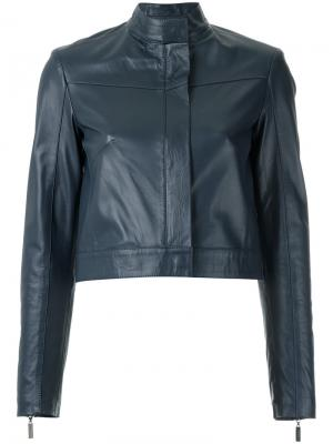 Leather jacket Giuliana Romanno. Цвет: none