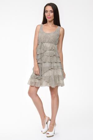 Платье Evalinka. Цвет: зеленый