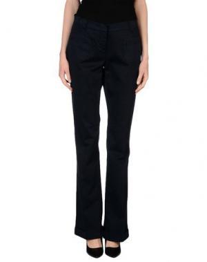 Повседневные брюки JUCCA. Цвет: темно-синий