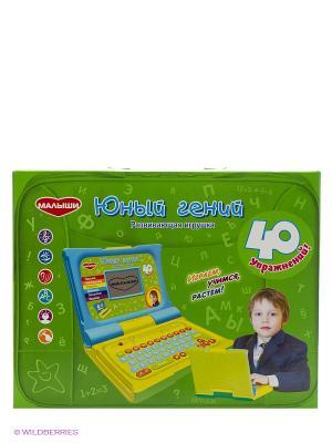Развивающая игрушка Юный гений GENIO KIDS. Цвет: зеленый