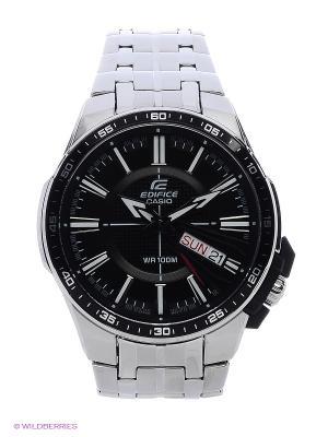 Часы EDIFICE EFR-106D-1A CASIO. Цвет: черный