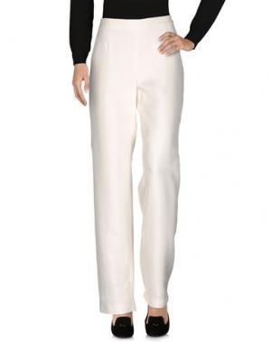 Повседневные брюки ROBERTO QUAGLIA. Цвет: белый
